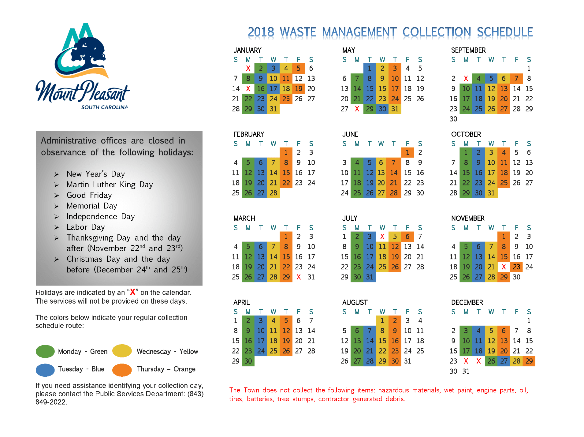 Subdivision Collection Schedule_Page_1