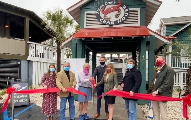 Shem Creek Crab House Ribbon Cutting Press Release