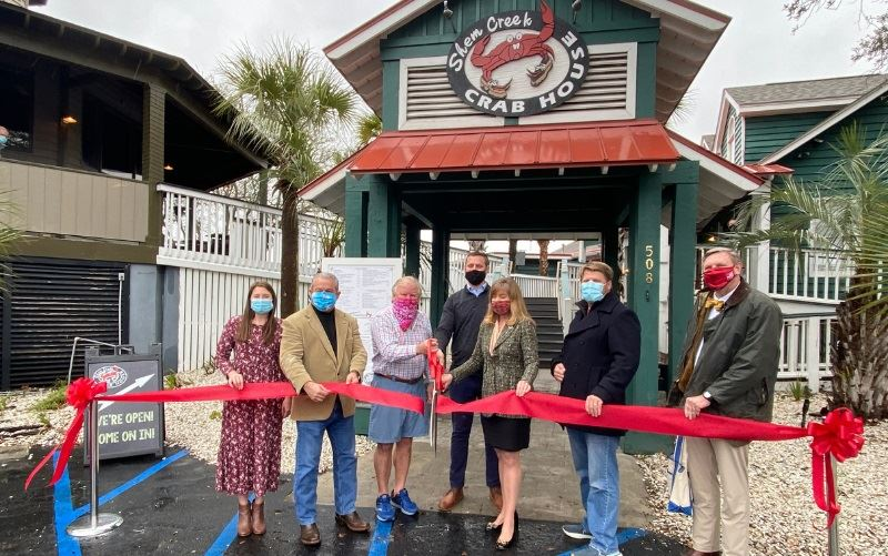 Shem Creek Crab House Ribbon Cutting Press Release 2