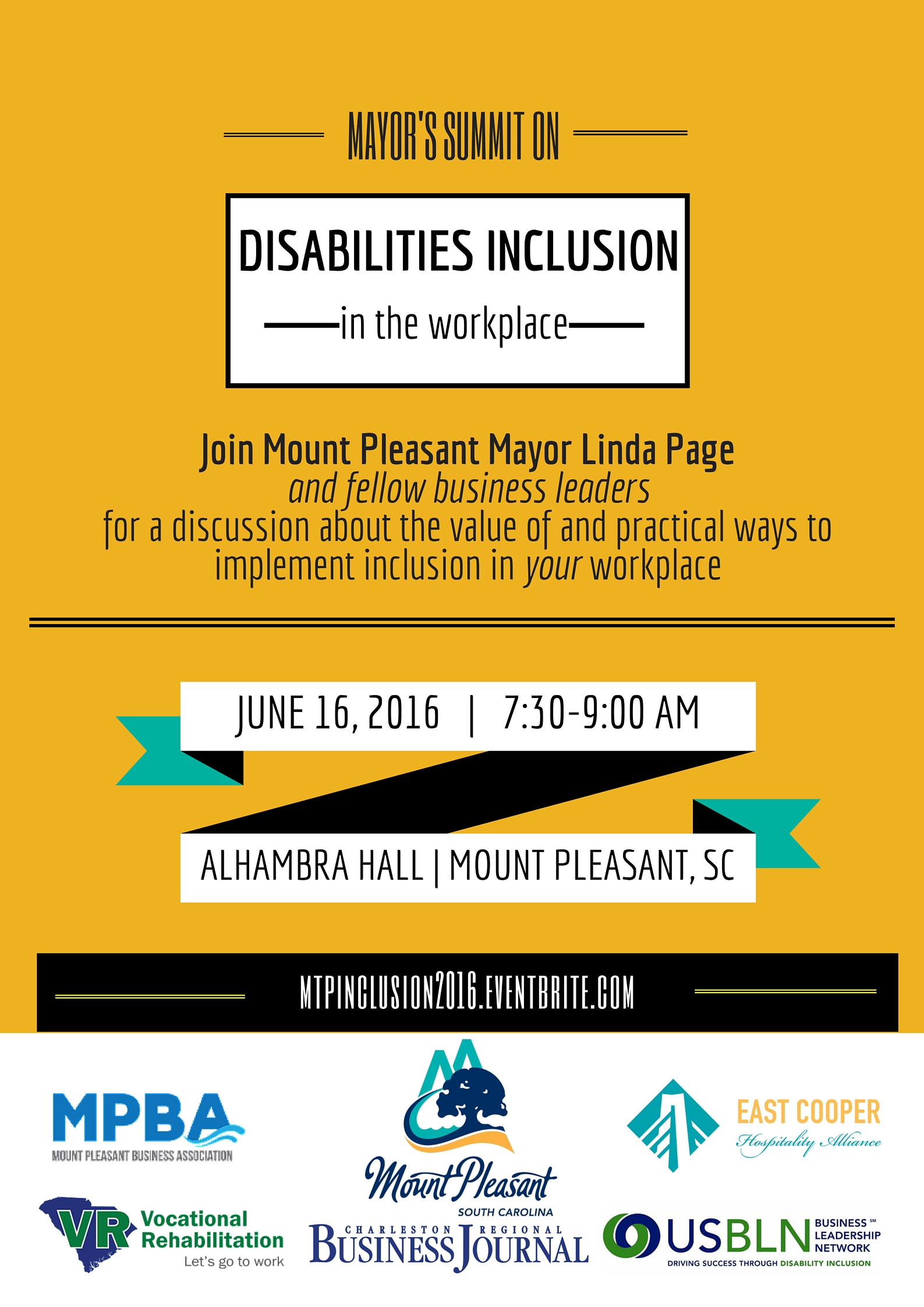 Mt Pleasant Disabilities Inclusion in the Workplace