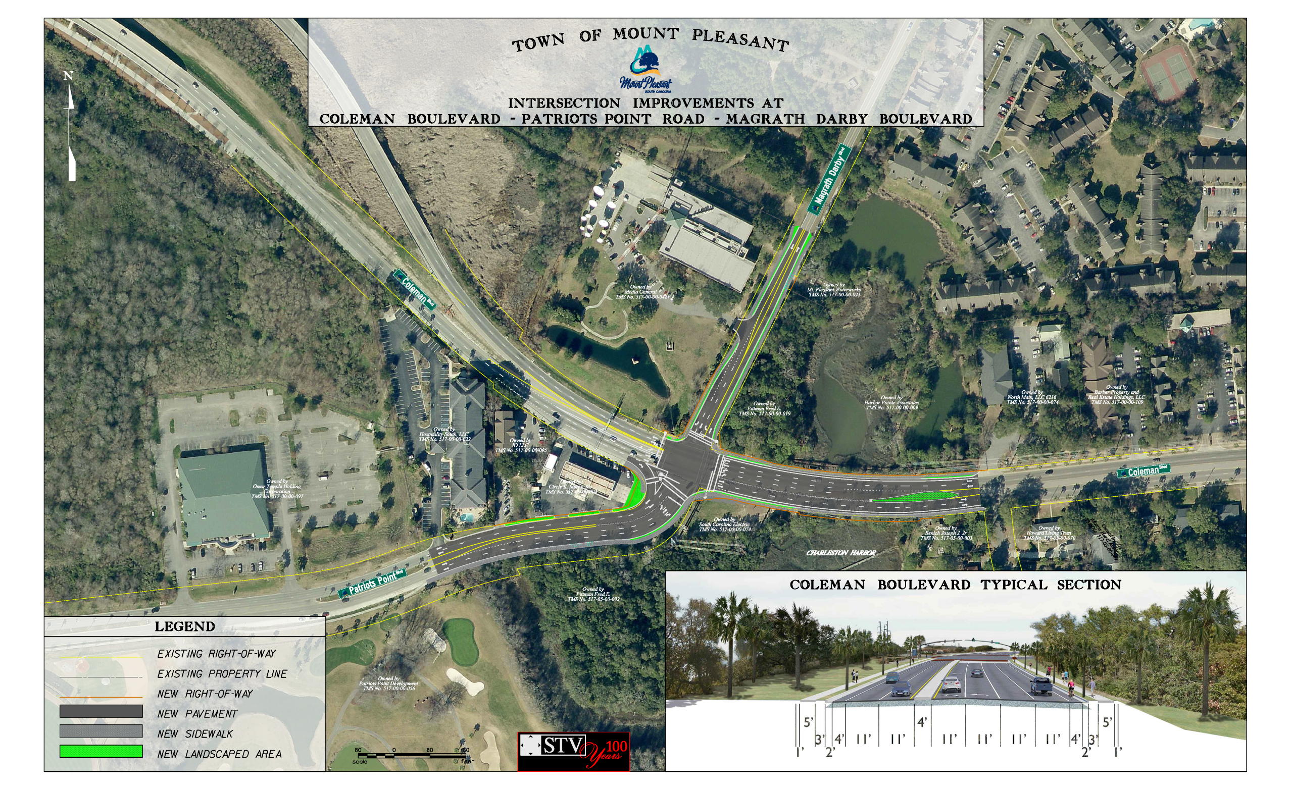 Patriots Point Gateway Intersection Improvements