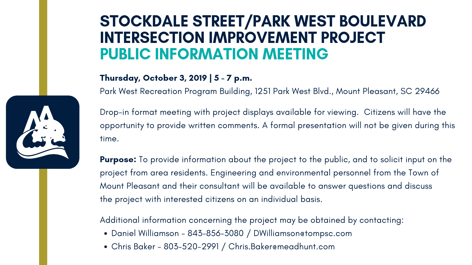 Stockdale Park West Meeting